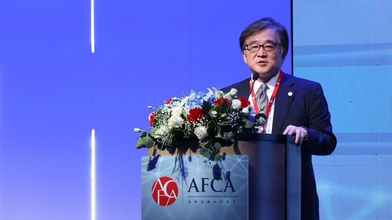 AMRO Director Toshinori Doi speaks at AFCA Financial Summit Forum in Bangkok