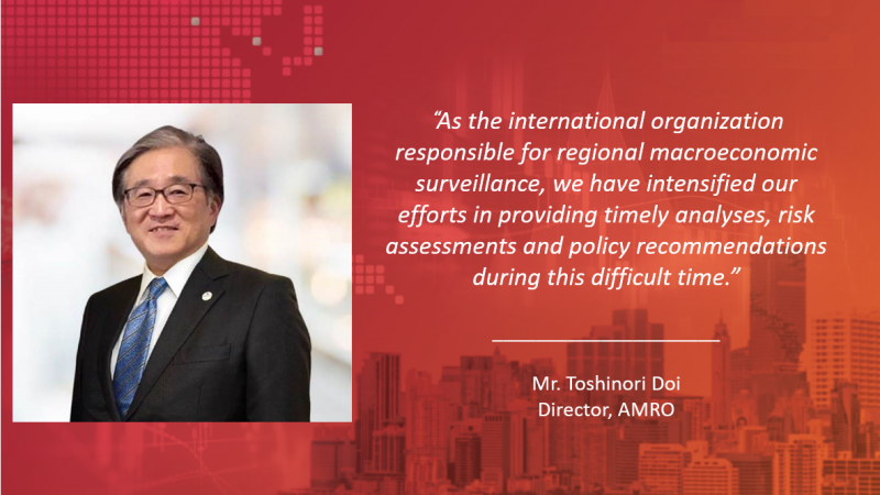 AMRO Director Toshinori Doi shares AMRO's role in maintaining financial and macroeconomic stability in the ASEAN+3 region.