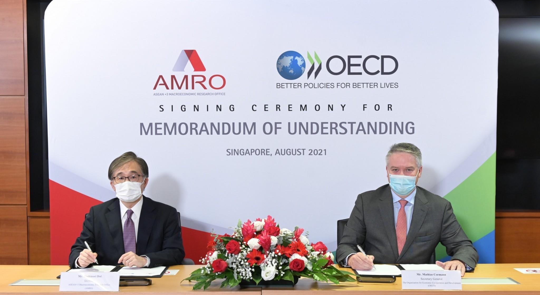 AMRO OECD MoU Signing Ceremony